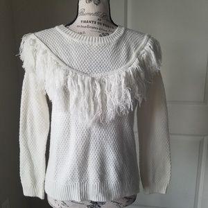 Pink Republic Fringe Sweater